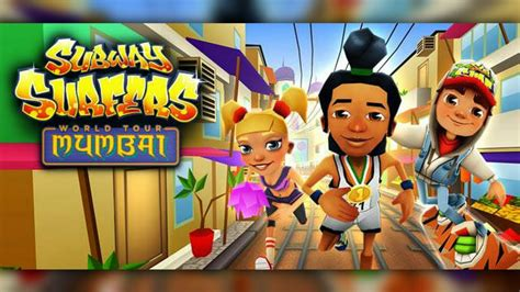 Subway Surfers Halloween Download by Subway Surfers 1 36 0 Mumbai Hack Unlimited Coins And