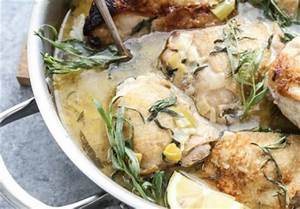 Braised Chicken Ginger-Coconut Chicken with Leeks and ...