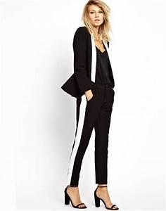 Pantalon De Soiree Chic : tendance chic pour vous le tailleur pantalon femme tailleur pantalon femme ~ Melissatoandfro.com Idées de Décoration