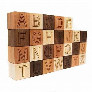 best 25 alphabet blocks ideas on pinterest diy vintage With wooden letter building blocks