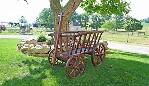 Amish Wooden Wagon | Old Fashioned Replica Wagons