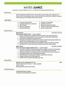 The Best Resume Format for Teachers 2017