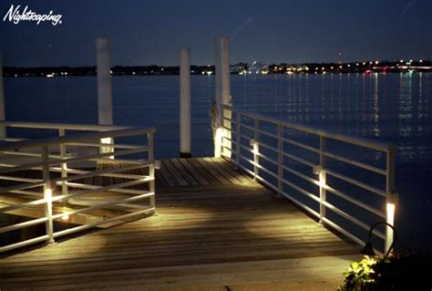 the placement influences dock lighting fixtures house