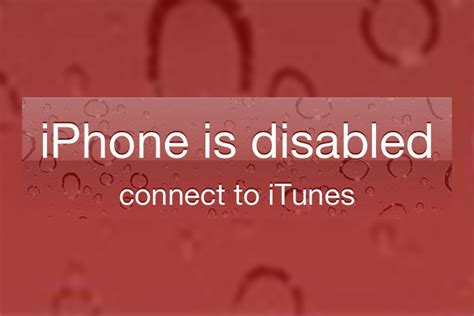 phone is disabled connect to itunes iphone cannot connect to itunes how to fix how to fix quot iphone is disabled quot issue on an iphone and