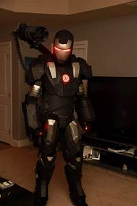 3D Printed War Machine Costume: War Machined - Technabob