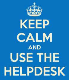 image gallery help desk poster