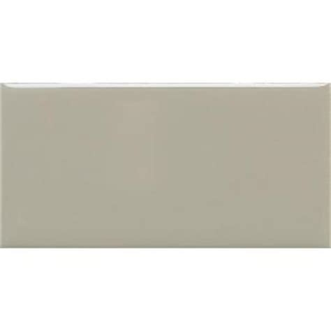 rittenhouse square tile home depot daltile rittenhouse square architectural gray 3 in x 6 in