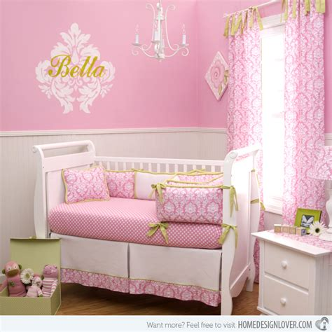 15 pink nursery room design ideas for baby home design lover