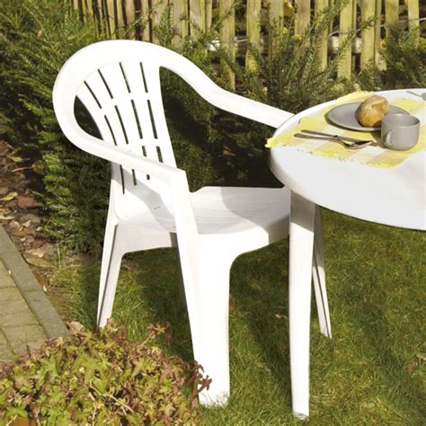 chaise de jardin en plastique chaise de jardin plastique ziloo fr