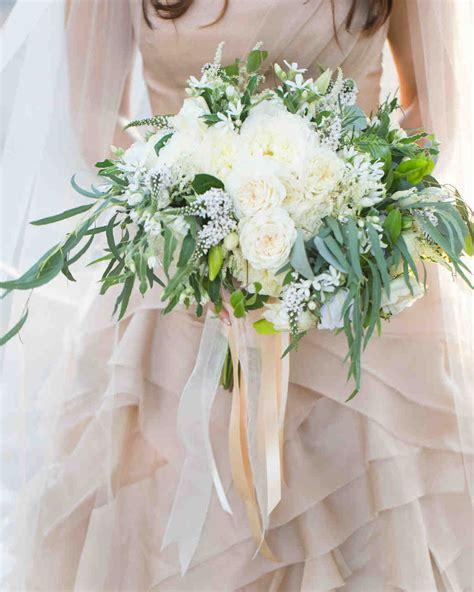 40 White Wedding Bouquets Martha Stewart Weddings