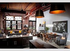 Elegant Urban Loft Embraces Texture & Industrial Aesthetics