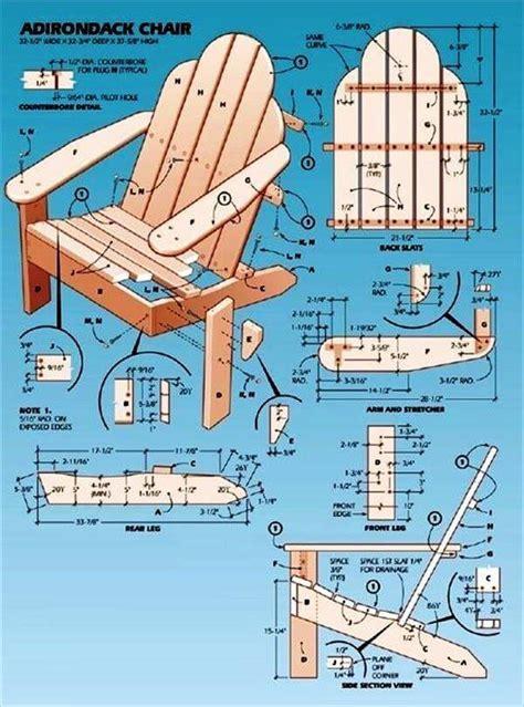 woodwork diy pallet adirondack chair plans  plans