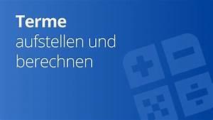 R Und V Kfz Versicherung Berechnen : bung zum aufstellen und berechnen von termen mathematik ~ Themetempest.com Abrechnung