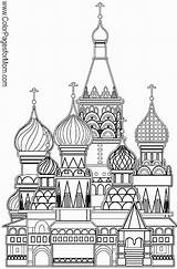 Coloring Church Adult Grown Buildings Cathedral Basil Ups Famous Sample Fb Join Printable Building Russian Colorpagesformom Malvorlagen Moscow Ausmalbilder Ausmalen sketch template
