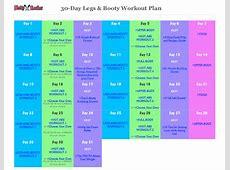 2018 30Day Workout Plan Fillable, Printable PDF & Forms