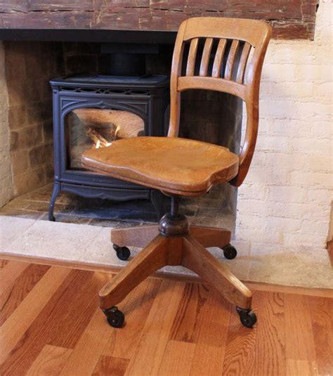 bl marble golden oak desk chair 1930 s 1940 s bedford