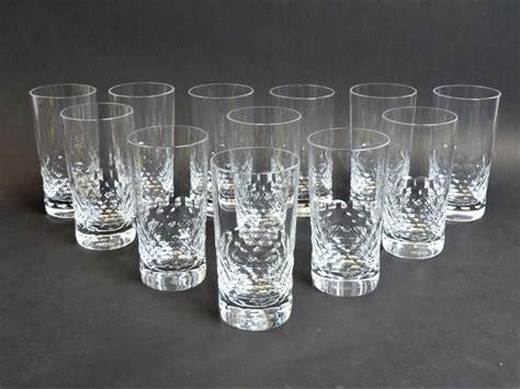 bicchieri di baccarat baccarat bicchieri di arancia 12 cristallo catawiki