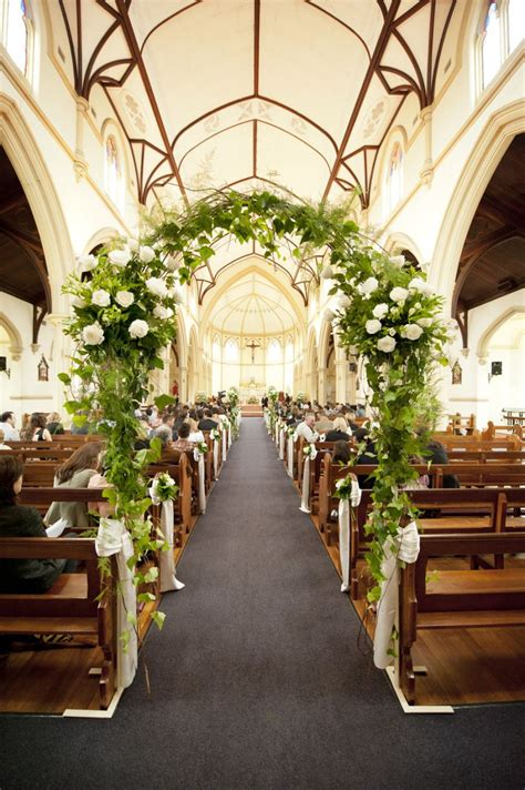 traditional perth wedding centerpiece church wedding decorations wedding decorations