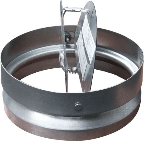 Ceiling Radiation Damper Ruskin by Two Bladed Uninsulated Static Round Ceiling Radiation Damper