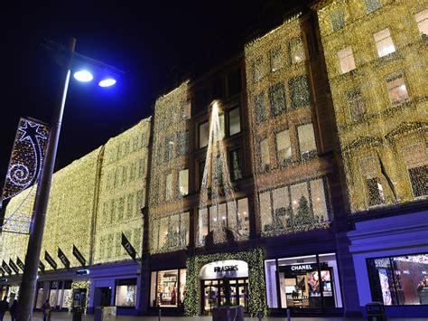 House Of Lights by House Of Fraser Glasgow Lights Switch On At