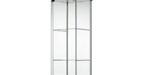 ikea detolf glass curio display cabinet black display cases