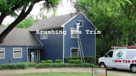 exterior house painting dallas ft worth spray