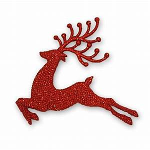 Red Reindeer Christmas Decoration