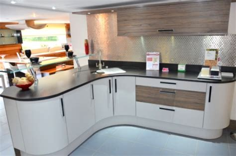 Ex Display Grey Beckermann Kitchen, Worktops And Miele
