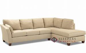 Customize and personalize sienna chaise sectional fabric for Sectional sofa sleepers queen