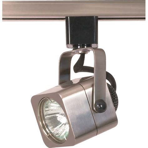 glomar 1 light mr16 120 volt track square finished in