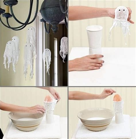 easy diy home decor ideas with ghosts bats and