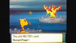 Pokemon Soul Silver Walkthrough Part 87catching Moltres