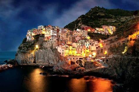 Amalfi Coast At Night Dream Destinations Pinterest