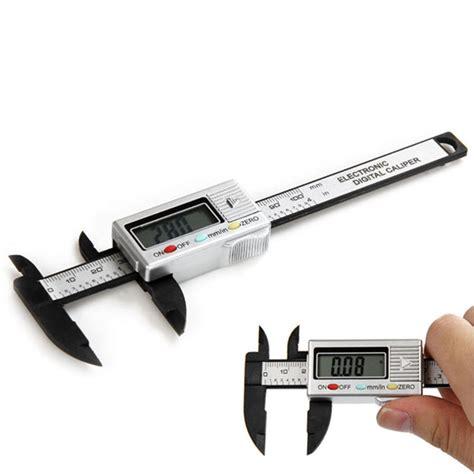 precision 100mm vernier calipers electronic digital lcd caliper micrometer scale ebay