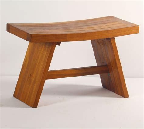 double asian teak shower stool  bench review teak