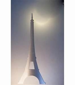 Tour Eiffel Deco : decoration mural tour eiffel en metal inox ~ Teatrodelosmanantiales.com Idées de Décoration