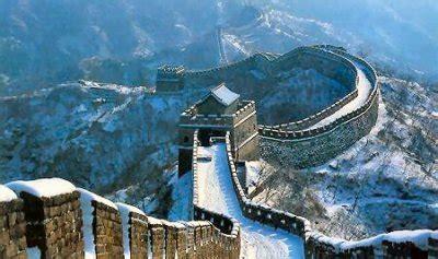les 7 merveilles du monde moderne 1 la grande muraille de chine de butterfly59000