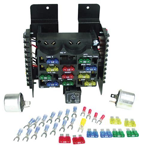 painless performance   el camino circuit fuse block  circuit  opgicom