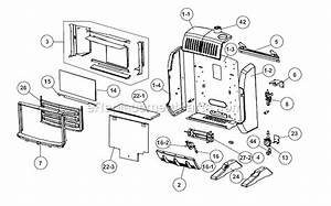 Mr  Heater Hsbf10ng Parts List And Diagram