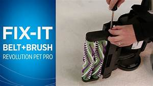How To Change The Belts And Brush Roll On Proheat 2x