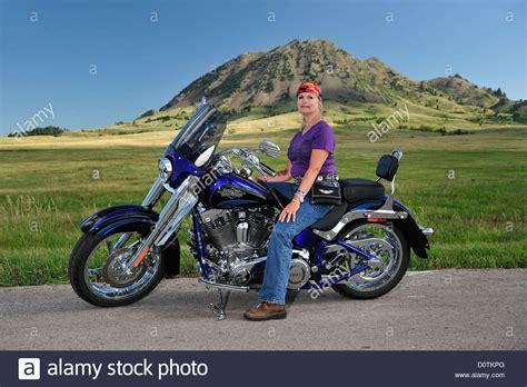 Maureen Doz, Motorcycle, Rally, motor rally, Bear Butte