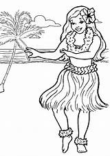 Coloring Pages Luau Adults Popular sketch template