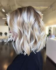 Balayage Blonde Hair Bob