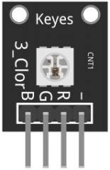KY-009 RGB Full color LED SMD Module - ArduinoModulesInfo