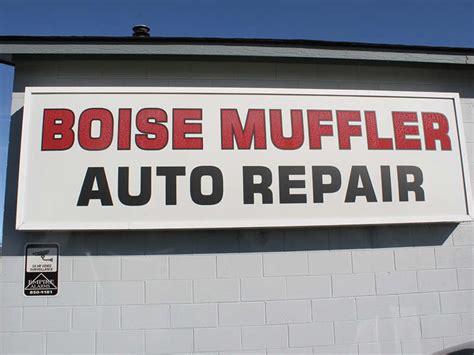 boise auto repairs vehicle maintenance boise muffler