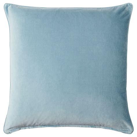 cushions ikea sanela cushion cover light blue 65x65 cm ikea
