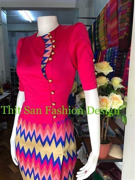 pin     traditional myanmar dress design myanmar