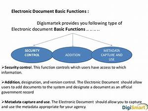 electronic document management system software With document management system version control