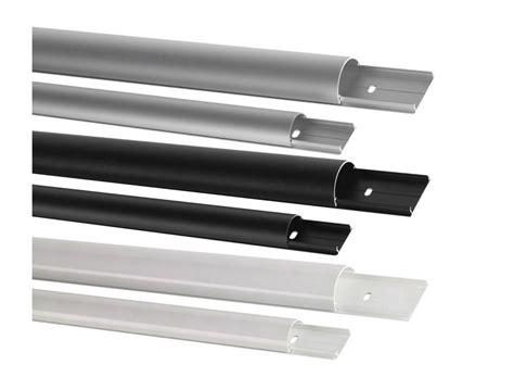 Abdeckung Le Decke by 7 98 M 5 X Aluminium Kabelkanal 150cm Schwarz Rund Alu