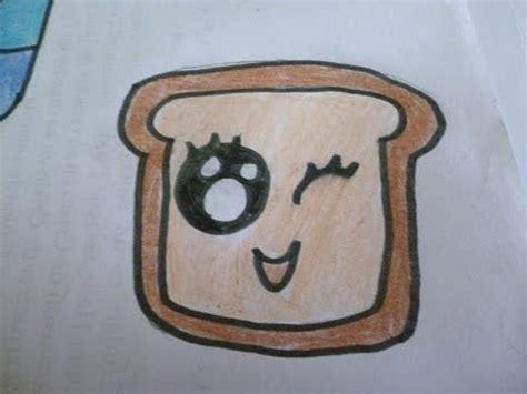 dibuja panecito kawai aprende  dibujar youtube